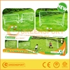2 in 1 steel soccer foldable goal portable goal with net soccer training supplies