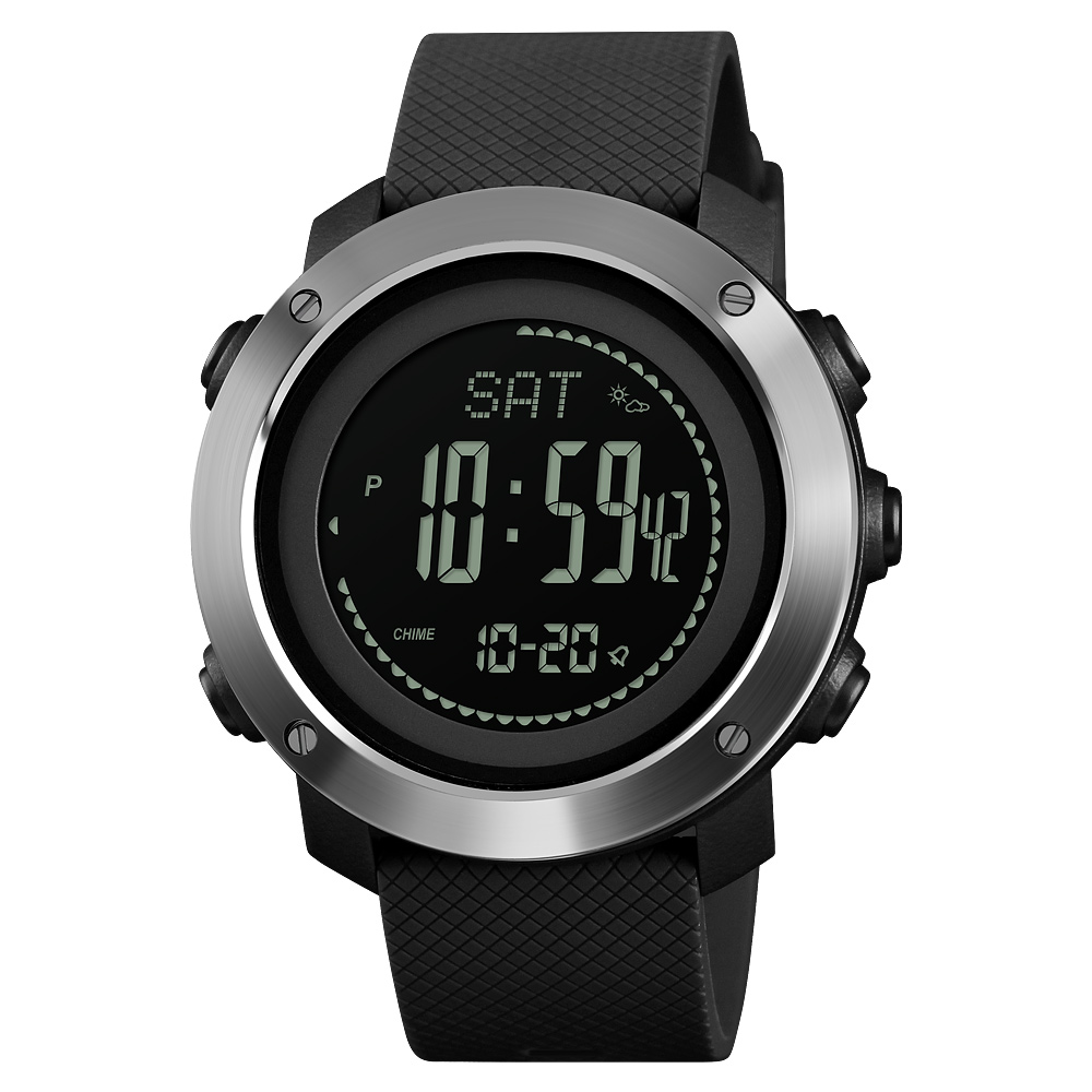 Watches Men's Watches Competent Fashion Outdoor Compass Watch Men Skmei Luxury Brand Multifunction Waterproof Digital Countdown Alarm Led Sports Wrist Watch Strong Packing