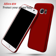 High Quality Frosted Slim Fit Shell Shockproof Ultrathin and Light Hard PC Cell Phone Back Cover Case For Samsung Galaxy S7 Edge