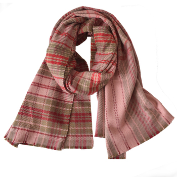 Wholesale 2018 newest chevron pashmina scarf shawl high quality brand thick warmer long red plaid women winter cashmere scarf