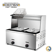 HGF-906C professional deep fryer for fried chicken for sale