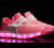 led light up cushion sole shoes for kids