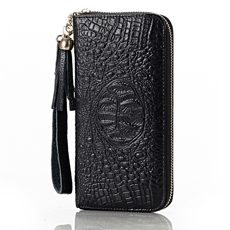 26cee555c1 Buy New Design Women Fashionable Cow Leather long Designer Wallet Zip  Around Case Purse Brand Wome Bg and Women Wallet Free Shipping in Cheap  Price on ...