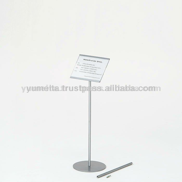 Japan Quality Furniture Compact Extendable A5 Free Standing Sign Menu Holder