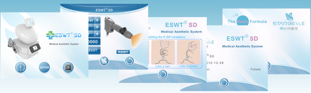 Shock-wave Eswt Cellulite Reduction And Body Contouring Machine ...