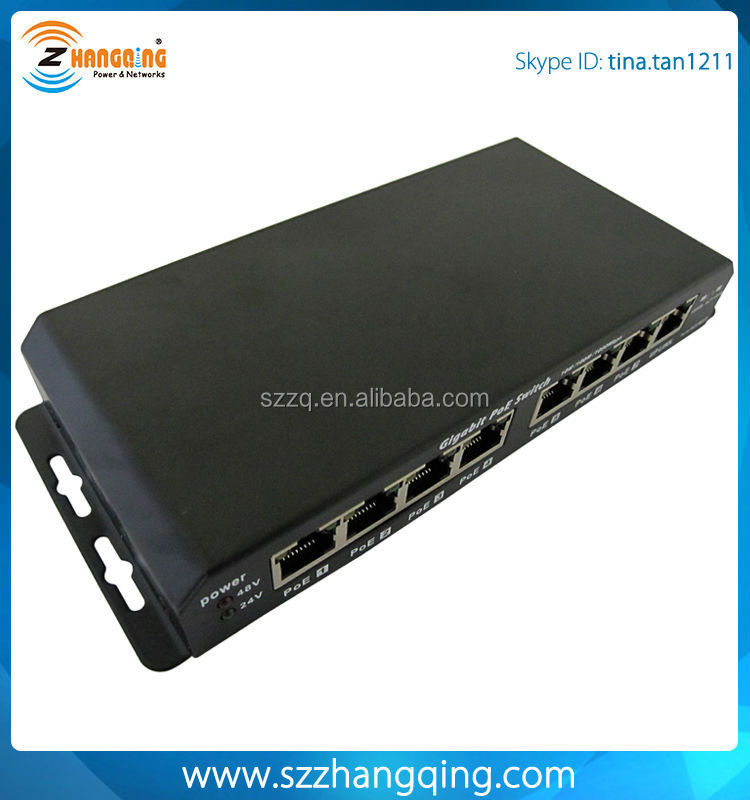 8 port 1000M poe switch, gigabit poe switch, network switches