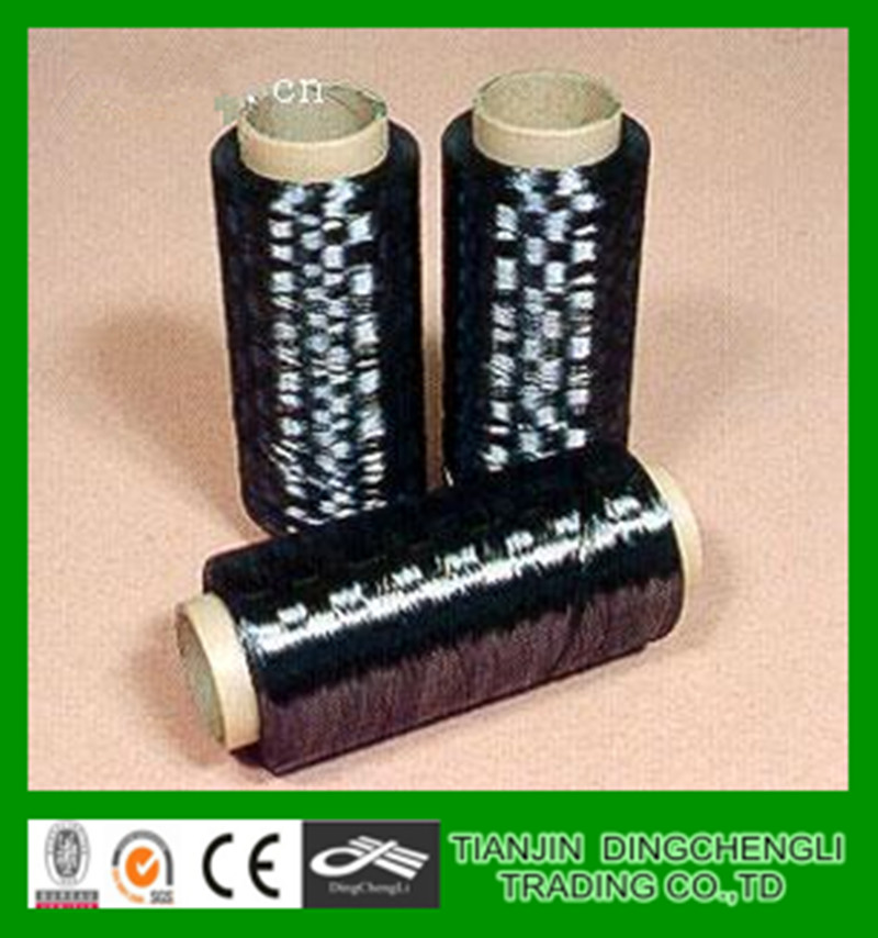 T700SC-12000-50C Black polyester nylon electrically conductive carbon fiber