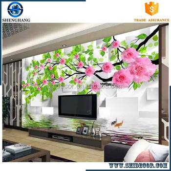 Customize 3d Tv Background Wall Mural Hd Effect 3d Wallpaper Offered By China Factory Buy 3d Wallpapers Home 3d Background Wall Tv Background Wall