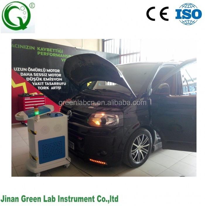 Hydrogen motor cleaning