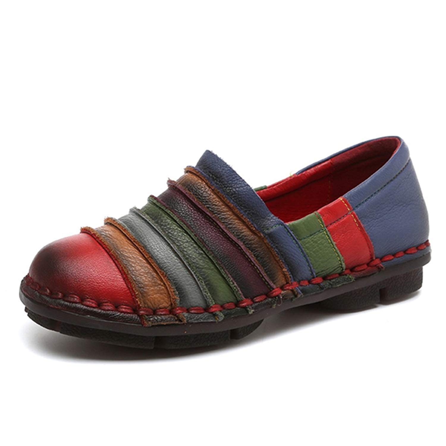992a2cd44b9 Get Quotations · Socofy Slip-on Loafer