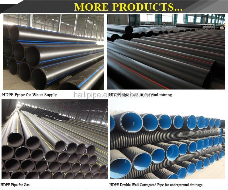 Tutti i tipi di tubo in pvc raccordo per il drenaggio for Tipi di tubi in pvc