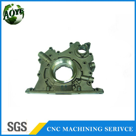 cnc pumping parts customized cnc machining