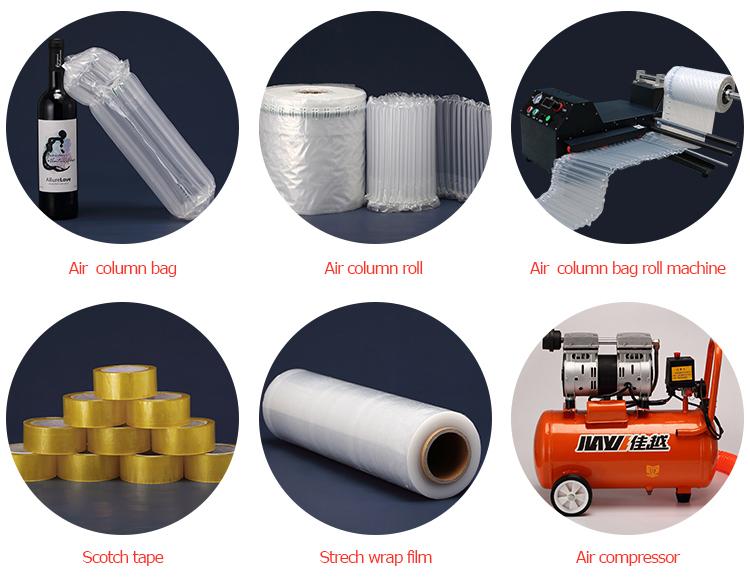 Прямая продажа с фабрики, машина для воздушных подушек, высокоскоростная машина для воздушных пузырей с сертификацией CE
