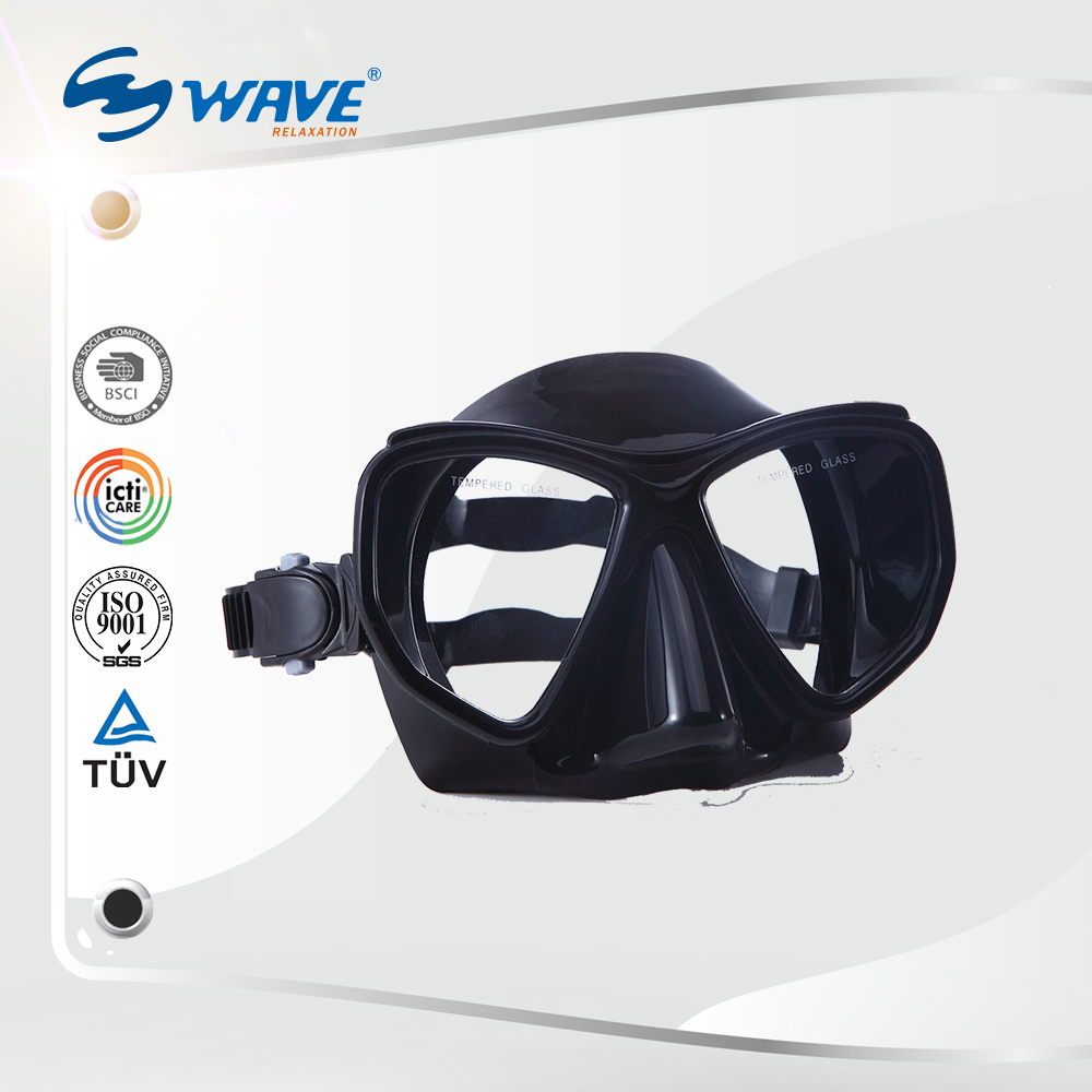 Low Volume Tempered Glass Scuba Diving Mask China Snrokel Mask Diving Mask