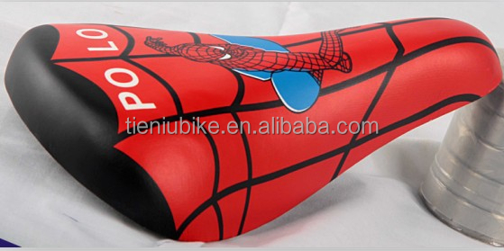 Bicycle leather seats /Bike saddle / Colors kids bike seats