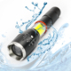 The best flashlights torches in the world, Waterproof torch aaa battery led flashlight for emergency