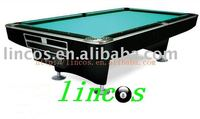 9ft international standard size cheap pool table