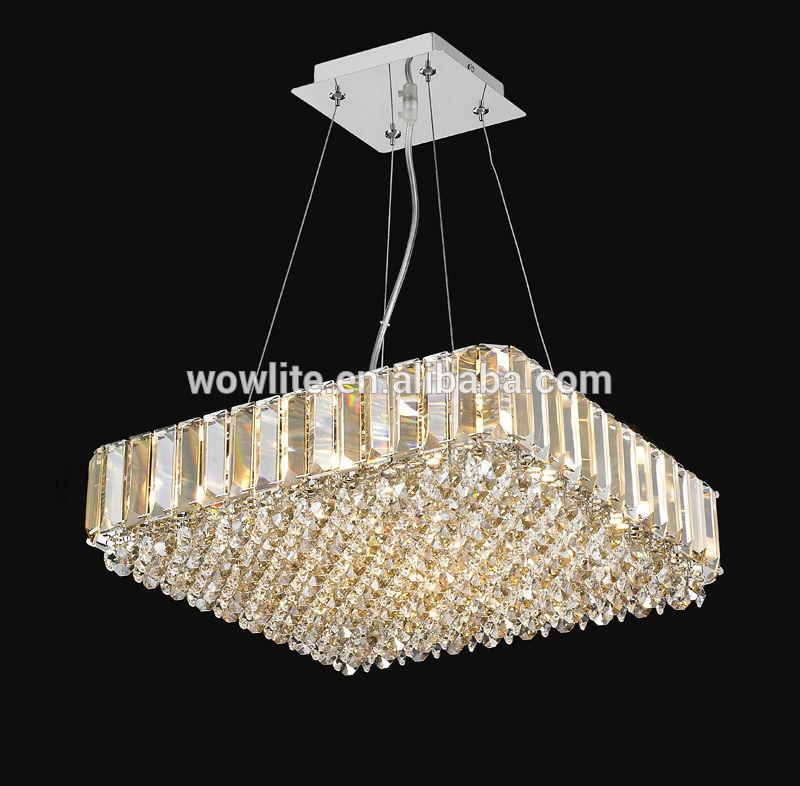 2014 nuevo y moderno de cristal colgante decorar moderna - Lo ultimo en lamparas de techo ...