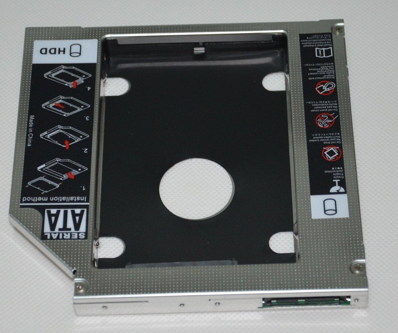 DY-tech SATA 2nd HDD SSD Hard Drive Optical caddy for HP Pavilion DV6 dv6-6110 DV7 DV8