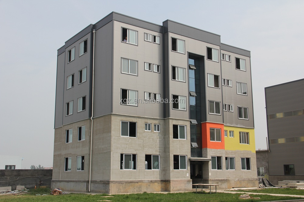 Prefabricated Steel Apartment Building
