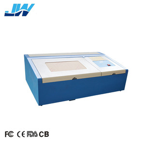 jingwei 2030 3020 k40 silicone acrylic stamp laser engraving cutting making machine