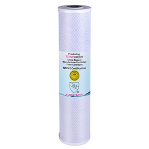 Heavy Duty Carbon Filter Cartridge CTO 20 Inch 5 Micron