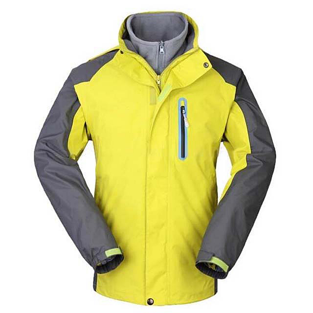 Men's Spring Windbreaker Jacket Polyester Breathable And Waterproof Hooded Jacket