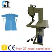 Automatische industriële ultrasone echografie quilten machine voor geweven leer stof