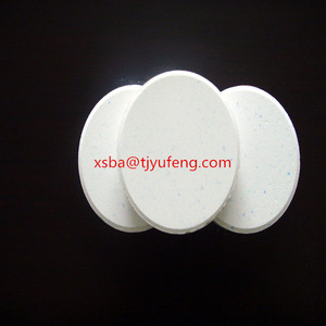 "swimming pool chemical 90% 200g tcca 3"" chlorine tablets"