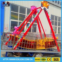 Best amusement park ride swinging pirate ship for kids rides pirate ship with trailer