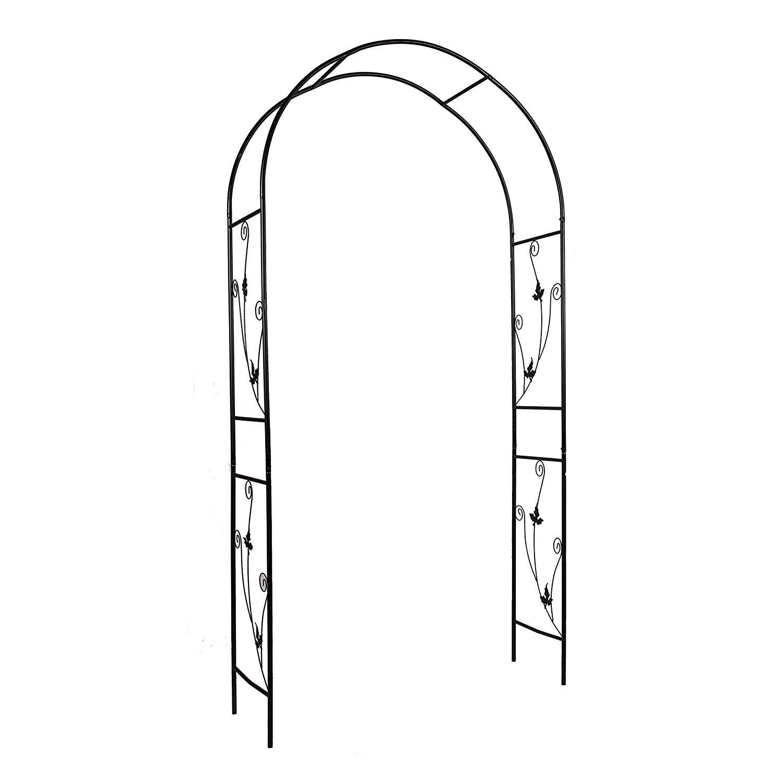 """Better Garden Steel Garden Arch, 7'5"""" High x 3'7"""" Wide, Garden Arbor for Various Climbing Plant, Outdoor Garden Lawn Backyard"""