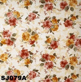 Fancy Floral Plastic Tablecloths
