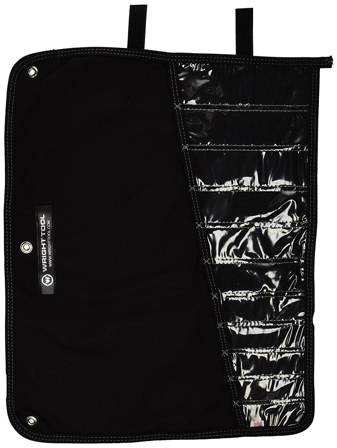 "Wright Tool 711-ROLL Denim Tool Roll - 22-5/8"" x 17-3/4"" - 11 pockets"
