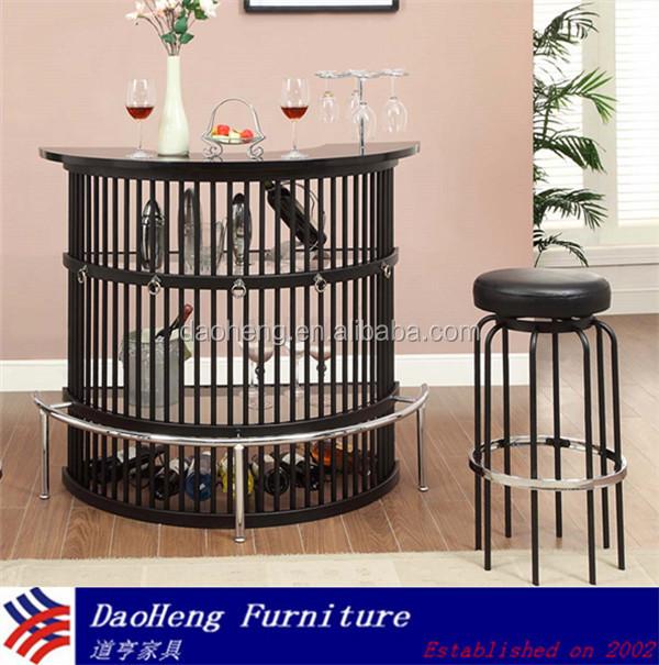 cheap home bar furniture metal glass bar table and chair cheap home bars furniture