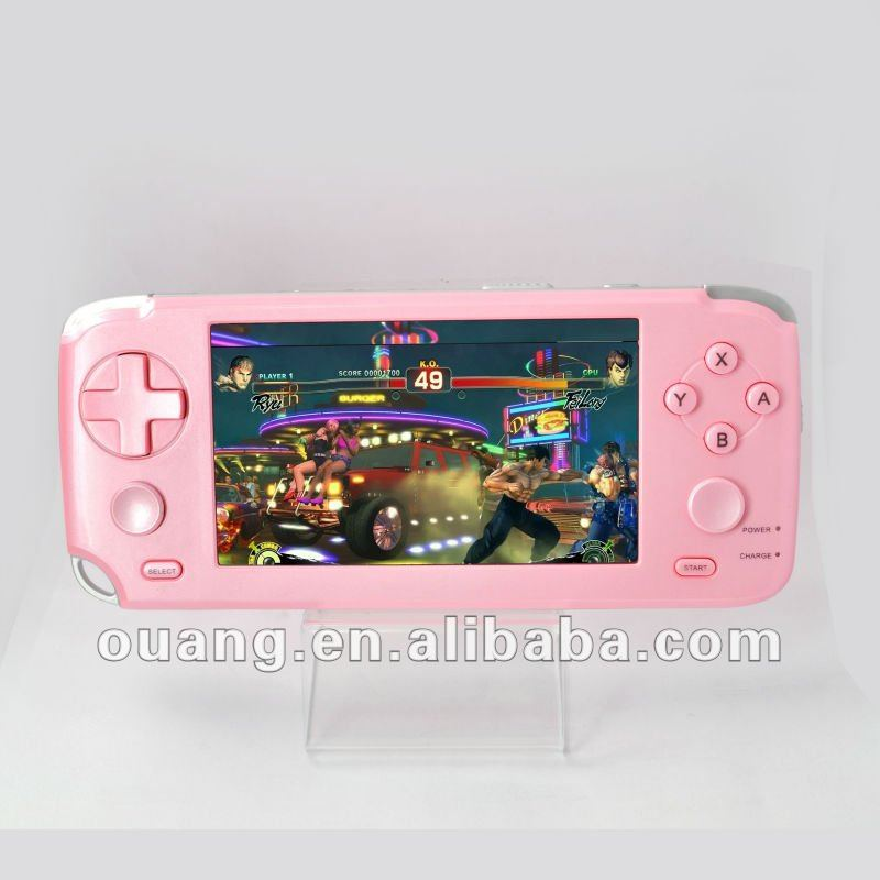 AS-903 4.3inch TV OUT Smart Game Console For MP5 GAME PLAYER