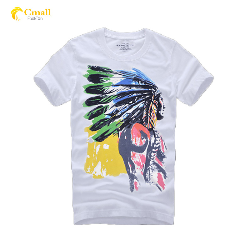 Get Quotations · New T Shirt Men Brand 2015 Short Sleeve T-shirt Men 100%  Cotton Camisa 2e5c276864e07