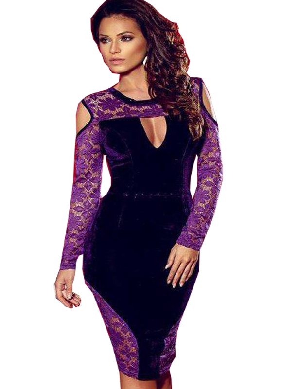 4f1ca3958d3c Get Quotations · R80023 Special design off the shoulder purple fashion clothes  dress with lace decorated dresses for women