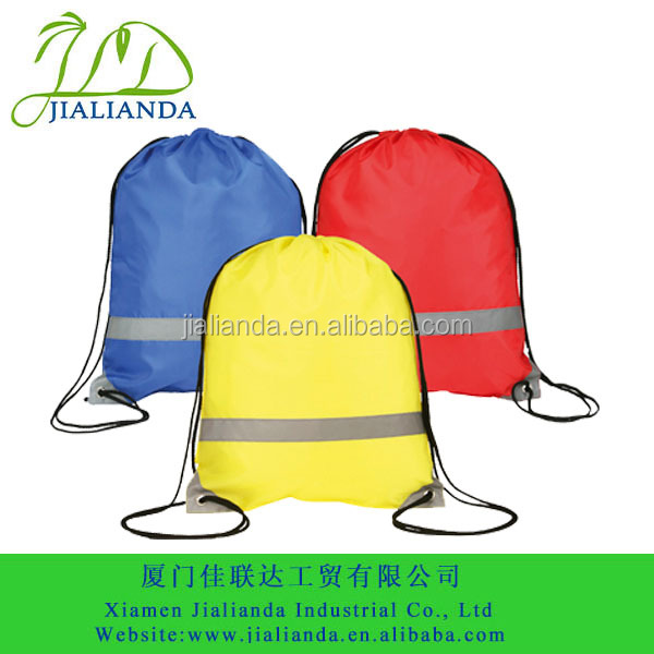 Grey decorate sport backpack promotional bag JLD-S010