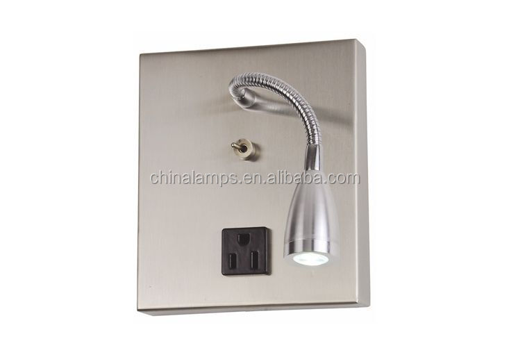 Middle East Electrical Outlet Led Wall Sconce With Led Gooseneck ...