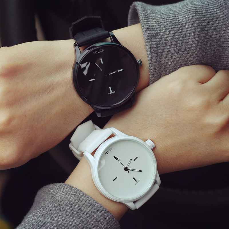 High Quality Fashion Brand Soft Silicone Strap Jelly
