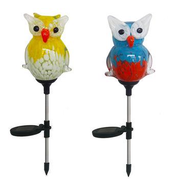 $50 OFF Outdoor Decorative Garden Light Owl Solar Garden Stake