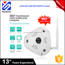 HD image 1.3 million 1/3 CMOS sensor wifi wireless rohs security camera system