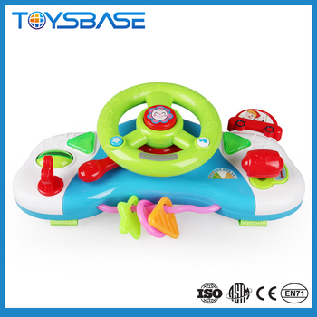 Happy Driver For Kids Toy Steering Wheel