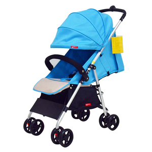 Good quality light portable baby stroller with awning pushchair exports