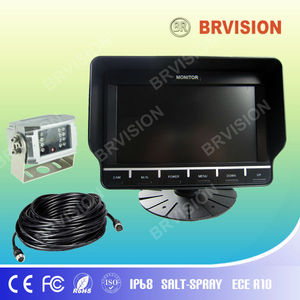 mitsubishi pajero rearview camera with mobile dvr for truck