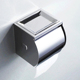 Stainless steel 201 Bathroom accessories Chrome paper toilet roll holder