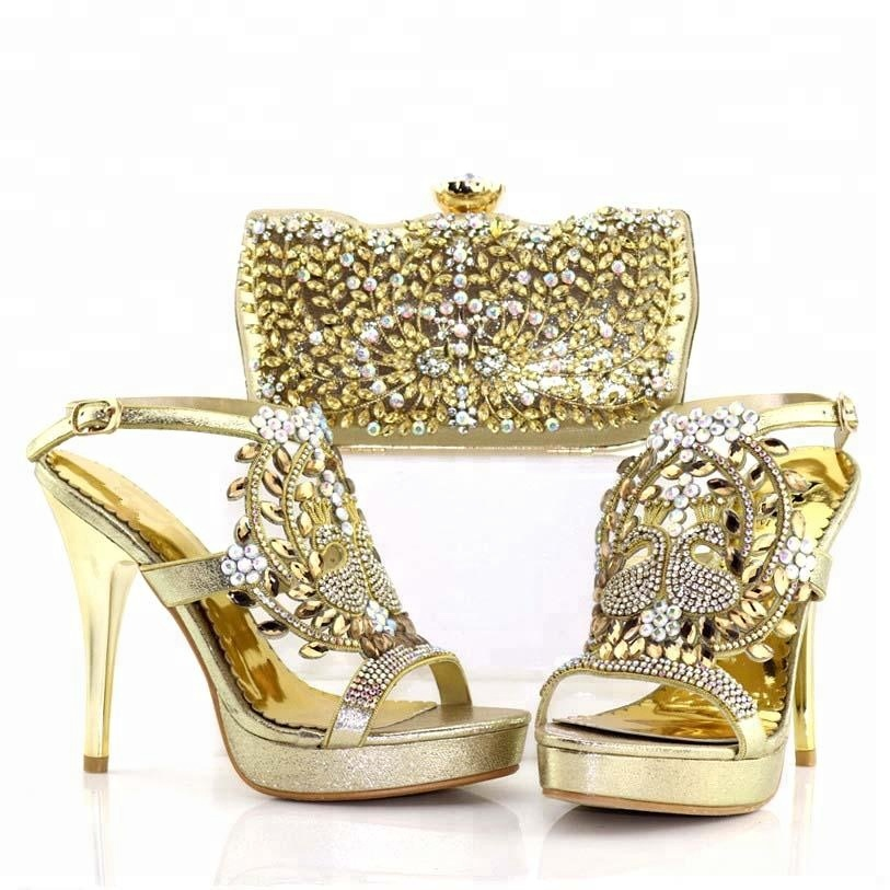 match shoes italian shoes women Wholesale matching ladies 2018 and and bags bags to party bridal nwtRxBqS0
