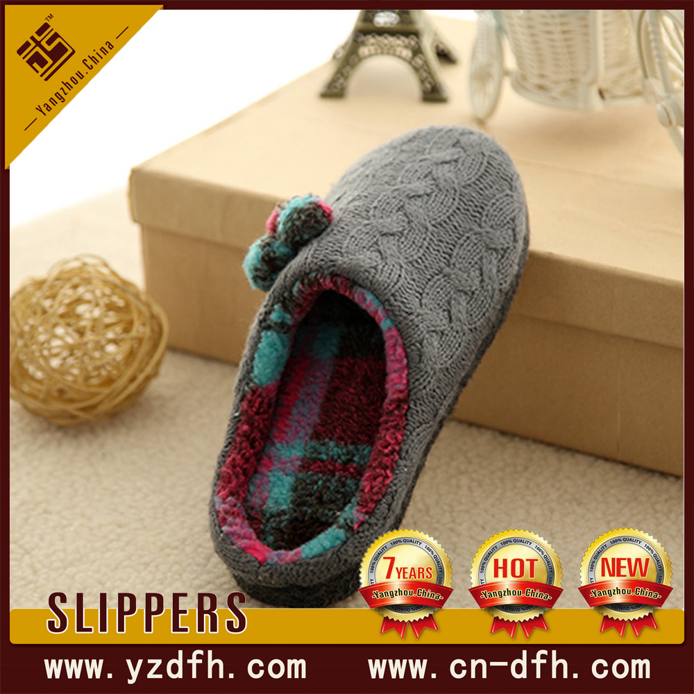 china memory plush fur stylish foam indoor <strong>slipper</strong>