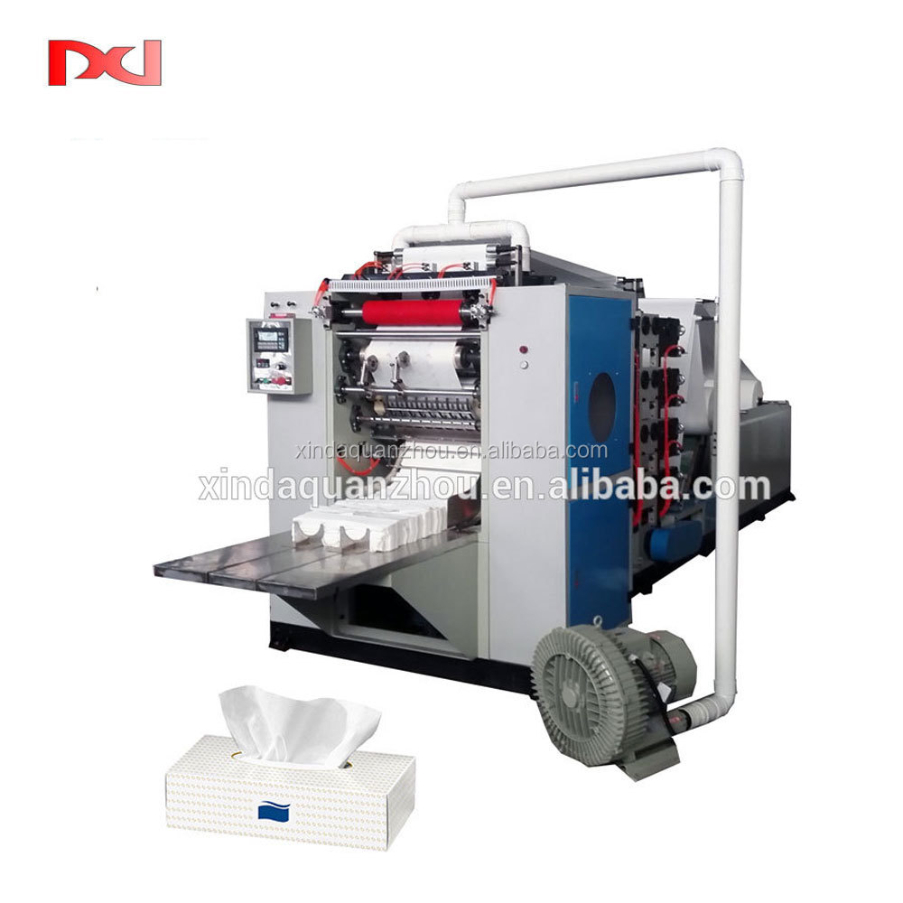 Automatic Embossing Facial Tissue Paper Making Machine for sale