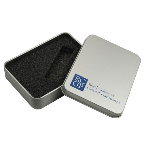 Custom Logo USB Packaging Metal Tin USB Tin Box Usb Gift Boxes Fast Delivery In Low Price